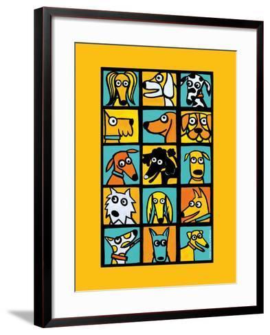 Dog Composite-Anne Leuck Feldhaus-Framed Art Print