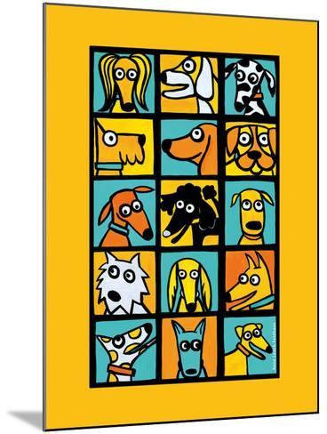 Dog Composite-Anne Leuck Feldhaus-Mounted Giclee Print