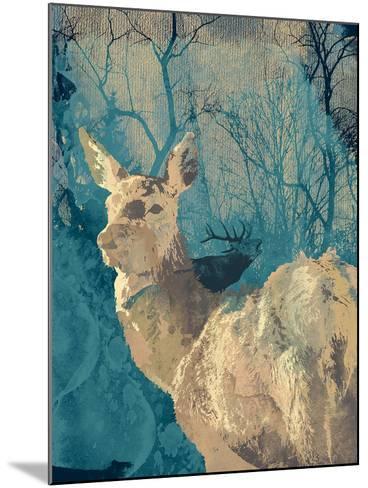 Deerhood IV-Ken Hurd-Mounted Giclee Print
