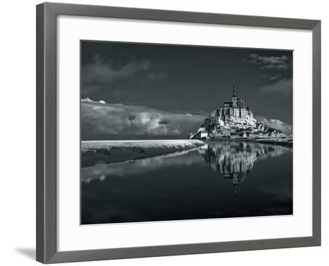 Mont Saint-Michel-Bob Krist-Framed Art Print