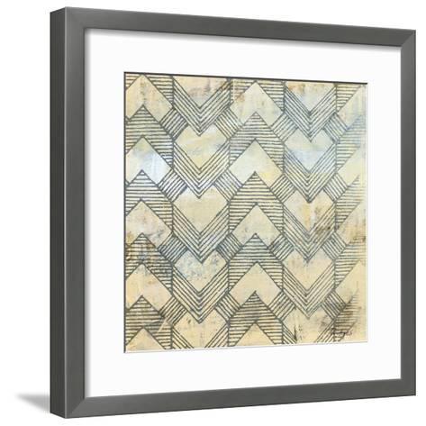 Linear Perception-Bridges-Framed Art Print