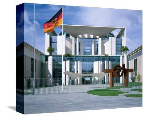 Federal Chancellery, Berlin--Stretched Canvas Print