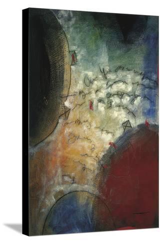 Silent Poem I-Trey-Stretched Canvas Print