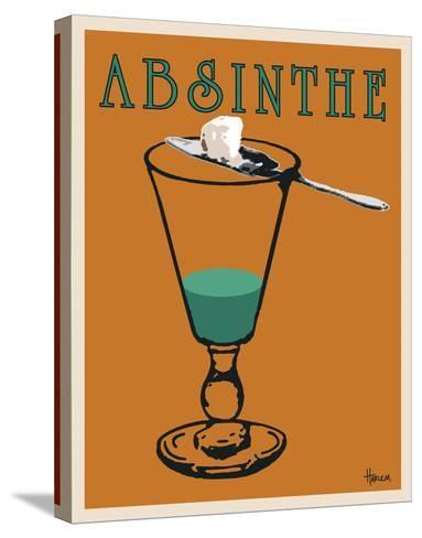 Absinthe-Lee Harlem-Stretched Canvas Print