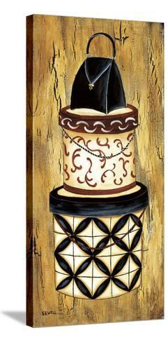 Vintage Hat Box I-Krista Sewell-Stretched Canvas Print