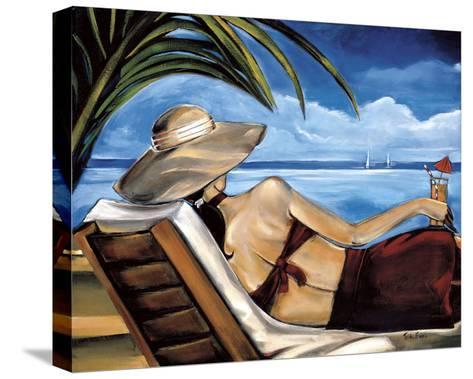 Riviera-Trish Biddle-Stretched Canvas Print