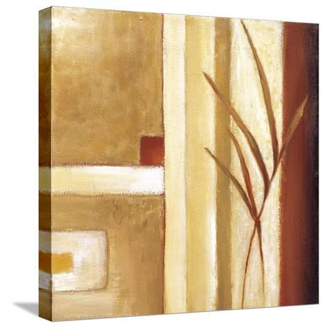 Decorative Grasses II-Ursula Salemink-Roos-Stretched Canvas Print