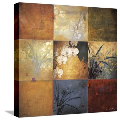 Orchid Nine Patch-Don Li-Leger-Stretched Canvas Print