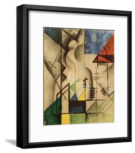 Abstract Shapes-Auguste Macke-Framed Art Print