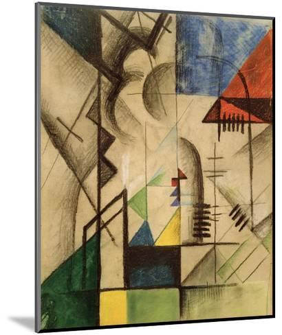 Abstract Shapes-Auguste Macke-Mounted Giclee Print