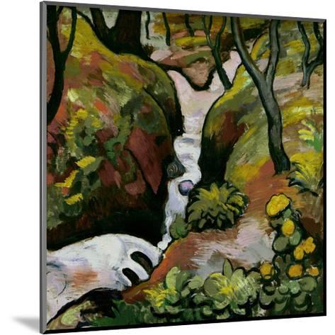 Forest Brook-Auguste Macke-Mounted Giclee Print
