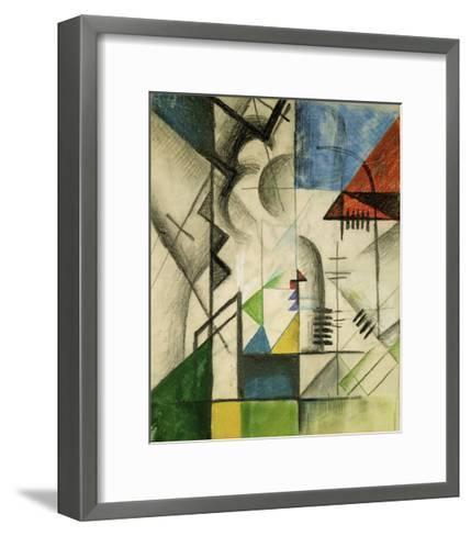 Forms 1913-Auguste Macke-Framed Art Print