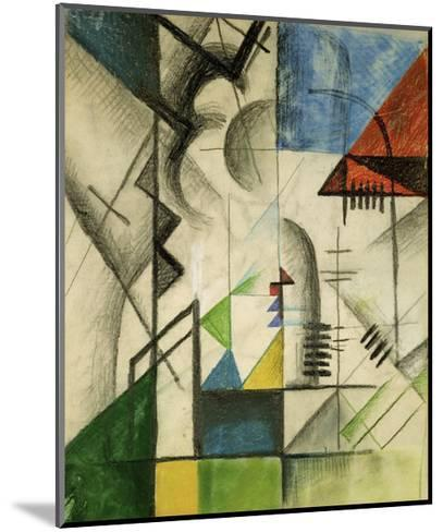 Forms 1913-Auguste Macke-Mounted Giclee Print