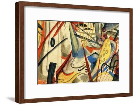 Colour Composition II-Auguste Macke-Framed Art Print