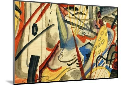 Colour Composition II-Auguste Macke-Mounted Giclee Print
