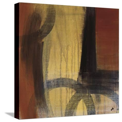 Circles in Time II-Jo Clouden-Stretched Canvas Print