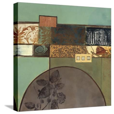 Botanical Textures II-Connie Tunick-Stretched Canvas Print