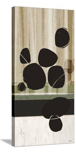 Pebble Beach I-Noah Li-Leger-Stretched Canvas Print