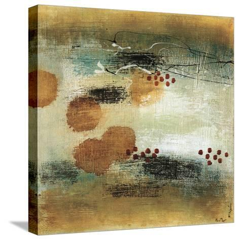 Drifting Current II-Heather Mcalpine-Stretched Canvas Print