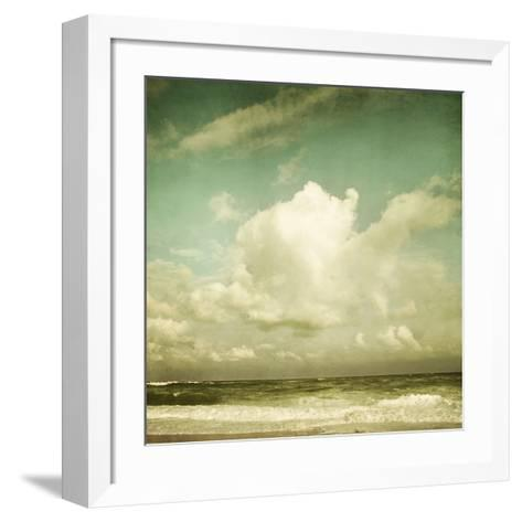 Why Don?t Clouds Fall from the Sky?-Irene Suchocki-Framed Art Print