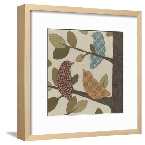 Forest Flock I-Erica J^ Vess-Framed Art Print