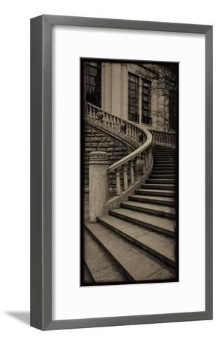 Sepia Architecture III-Tang Ling-Framed Art Print