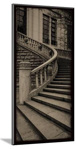 Sepia Architecture III-Tang Ling-Mounted Art Print