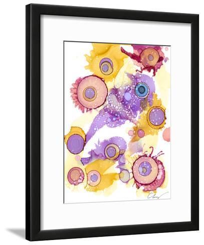 Ink Drops II-Cheryl Baynes-Framed Art Print
