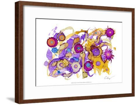 Ink Drops III-Cheryl Baynes-Framed Art Print