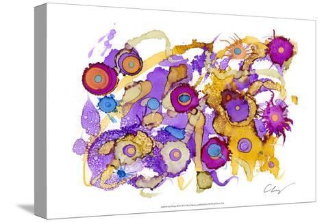 Ink Drops III-Cheryl Baynes-Stretched Canvas Print
