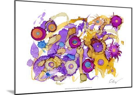 Ink Drops III-Cheryl Baynes-Mounted Art Print