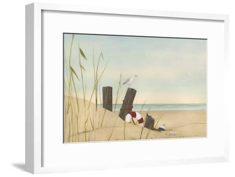 Seaside Dunes I-Erica J^ Vess-Framed Art Print