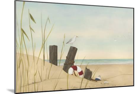 Seaside Dunes I-Erica J^ Vess-Mounted Art Print