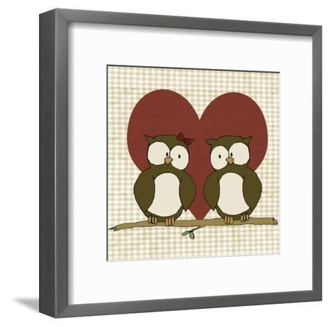 You & Me IV-Pam Ilosky-Framed Art Print