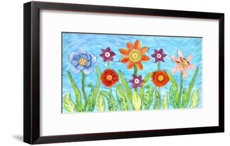 Flower Play I-Kaeli Smith-Framed Art Print