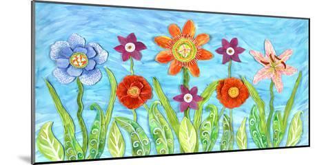 Flower Play I-Kaeli Smith-Mounted Art Print
