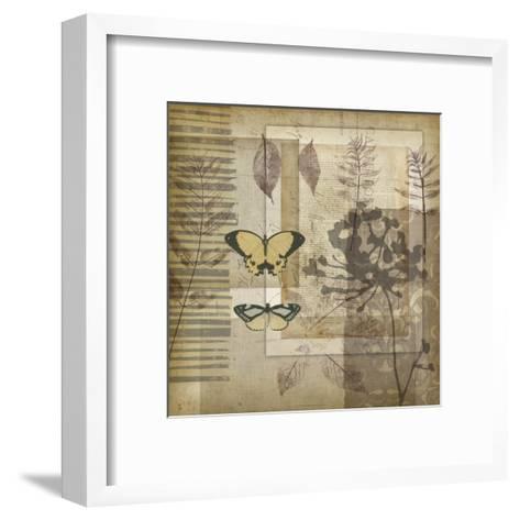 Small Notebook Collage II-Jennifer Goldberger-Framed Art Print