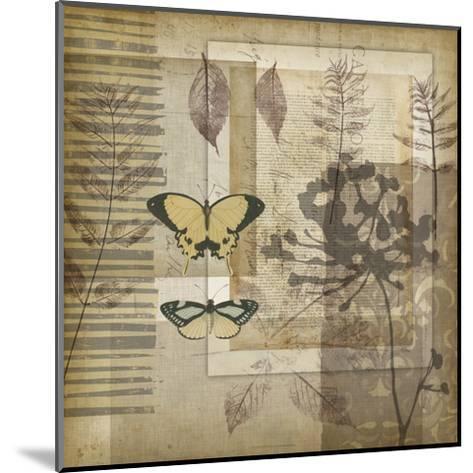 Small Notebook Collage II-Jennifer Goldberger-Mounted Art Print