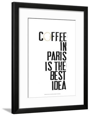 Drinks in Paris I-Deborah Velasquez-Framed Art Print