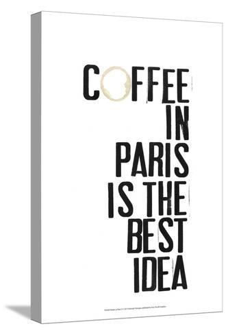 Drinks in Paris I-Deborah Velasquez-Stretched Canvas Print