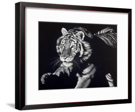 Burning Bright-Julie Chapman-Framed Art Print