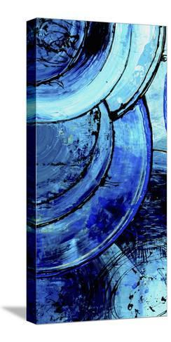 Blue Moons I-Erin Ashley-Stretched Canvas Print