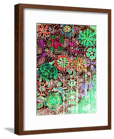 Flower Drift I-Danielle Harrington-Framed Art Print