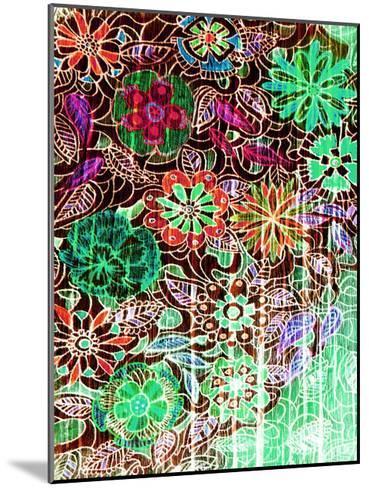 Flower Drift I-Danielle Harrington-Mounted Art Print