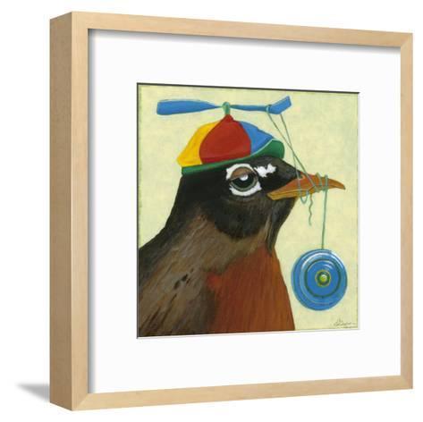 You Silly Bird - Chandler-Dlynn Roll-Framed Art Print