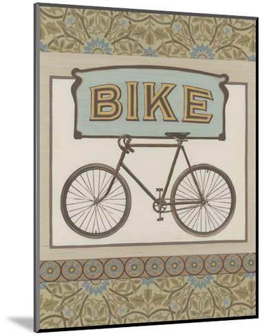 Bike-Erica J^ Vess-Mounted Art Print