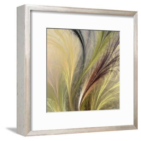 Fountain Grass I-James Burghardt-Framed Art Print