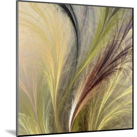 Fountain Grass I-James Burghardt-Mounted Art Print