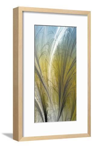 Fountain Grass III-James Burghardt-Framed Art Print