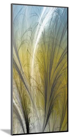 Fountain Grass III-James Burghardt-Mounted Art Print